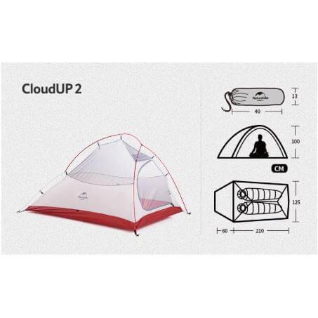 אוהל Cloud up 2